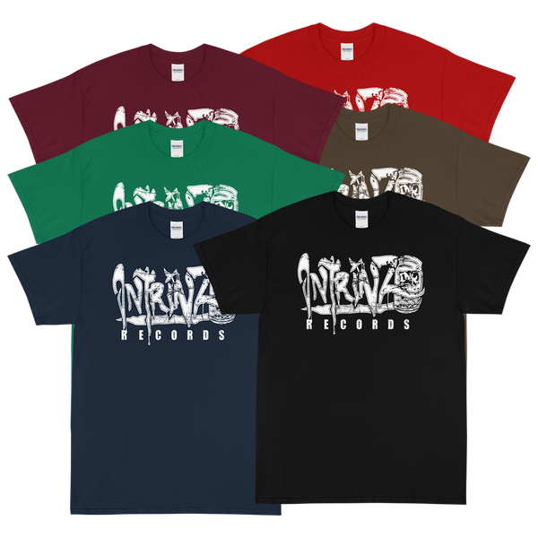 Image of Intrinz Ink Records Throwback logo Tee