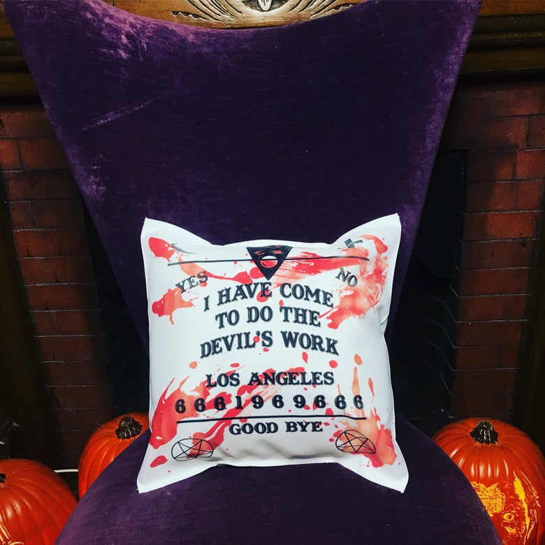 Image of The Devil's Work Pillow