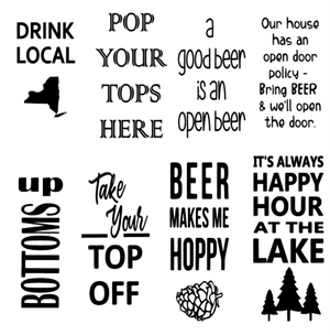 Image of 6x18 Bottle Opener Sign
