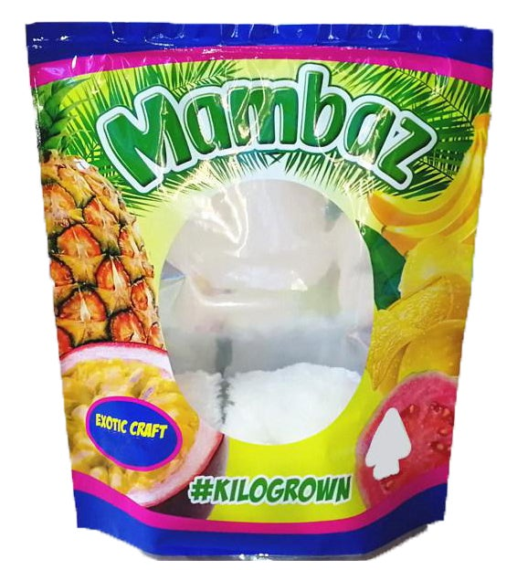 Image of Mambaz Bags Empty 1 Pound Size Smell Proof Mylar Bags