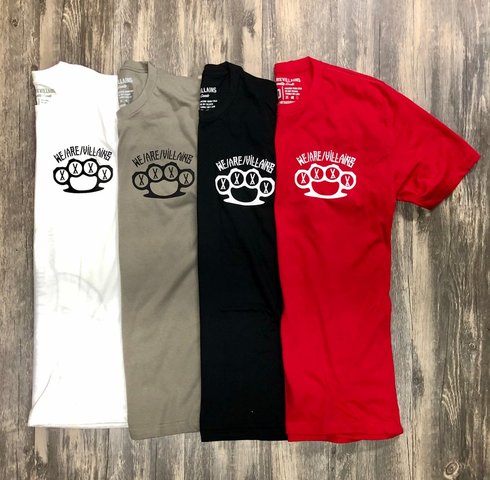 Image of Shhh knuckles tee