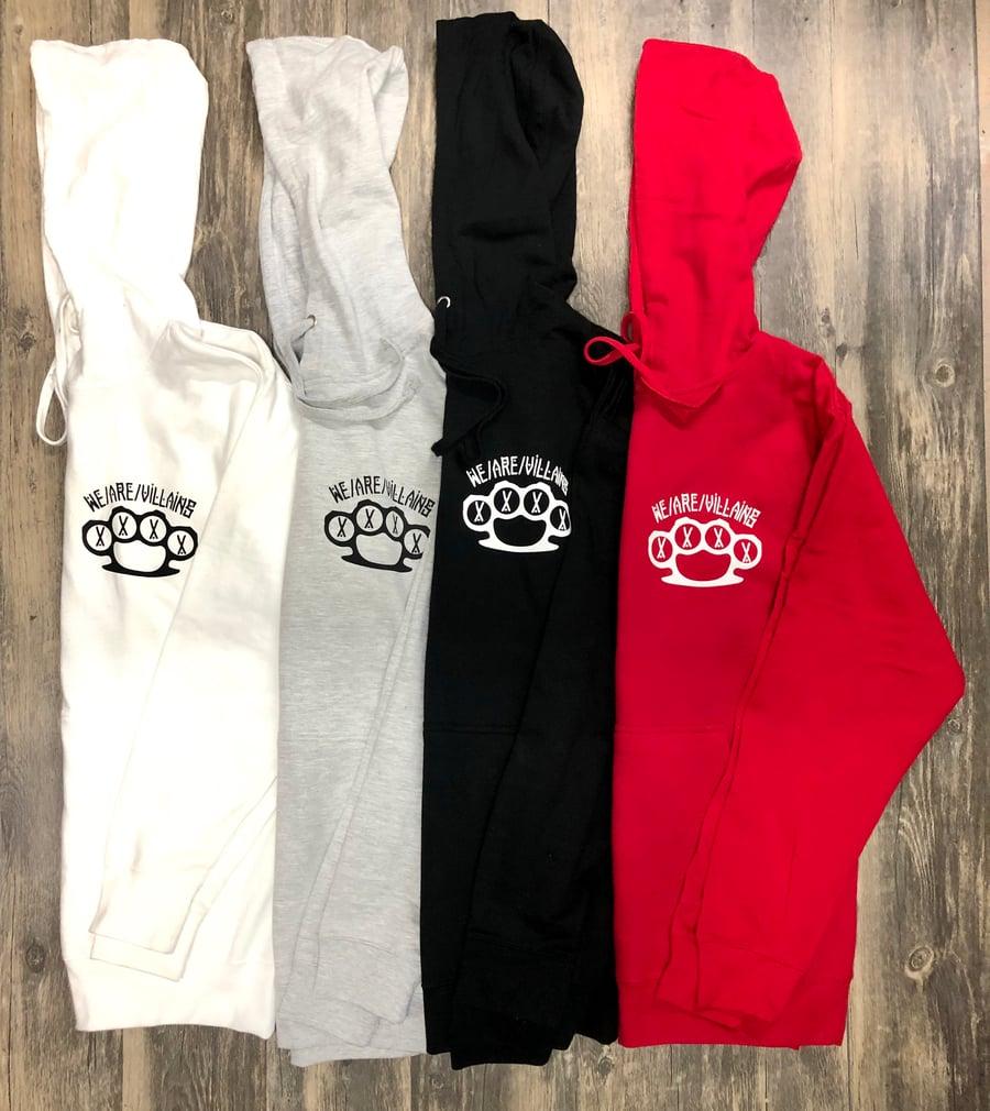 Image of Shhh knuckles hoodie