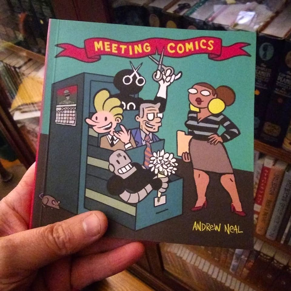 Image of Meeting Comics Volume One from Adhouse Books