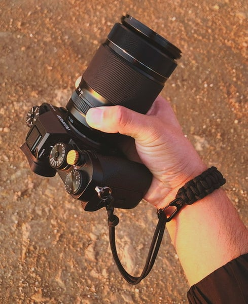 Image of Single strap w/ clip slider & quick release clip attachment