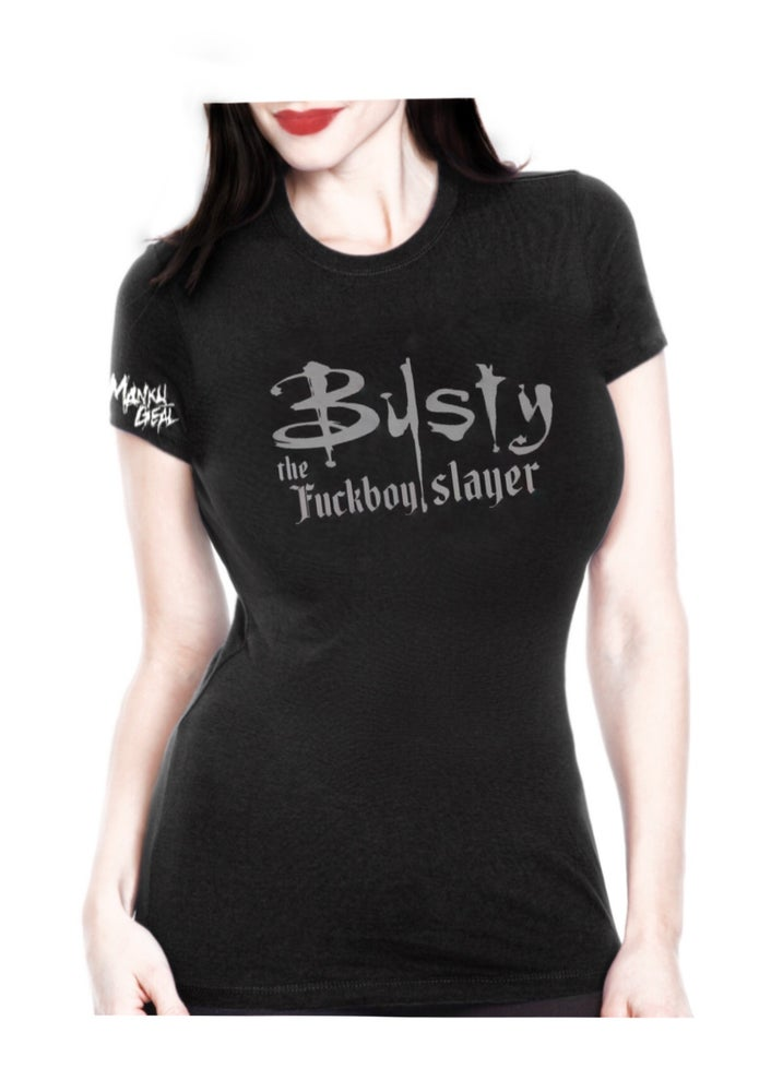 Image of Busty The Slayer Women's Tee