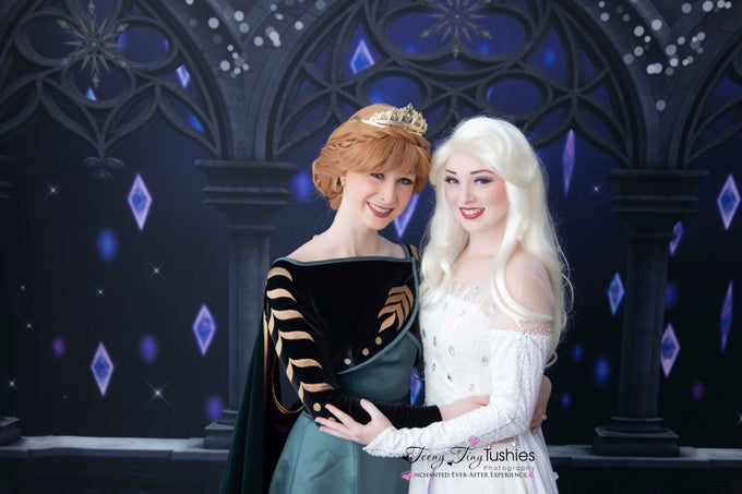 Image of ENCHANTED EVER AFTER PRINCESS PHOTOSHOOT EXPERIENCE-ICE QUEEN (MARCH 21st)