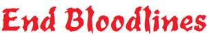 Image of End Bloodlines Vinyl Sticker
