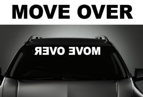 Image of Move Over Reverse Rear View