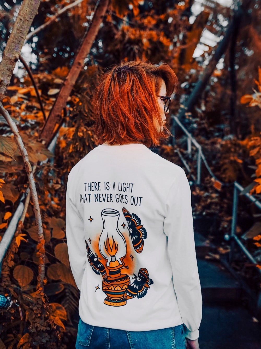 Image of Longsleeve There Is A Light (Unisex)
