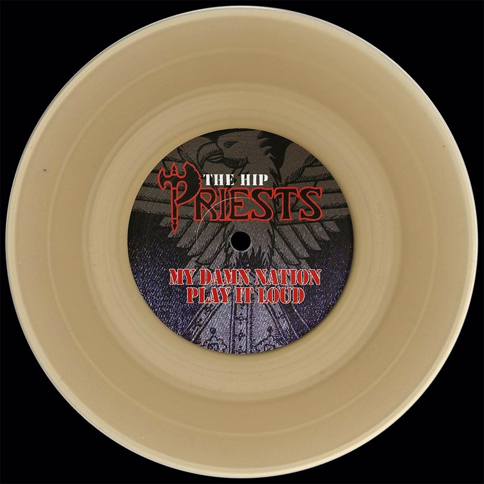 Image of The Hip Priests /Space Force Split 7 ""