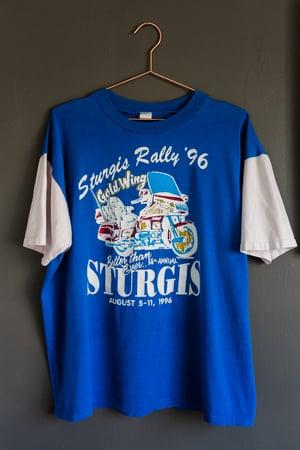 Image of Vintage Sturgis 1996 - Honda Goldwing Shirt