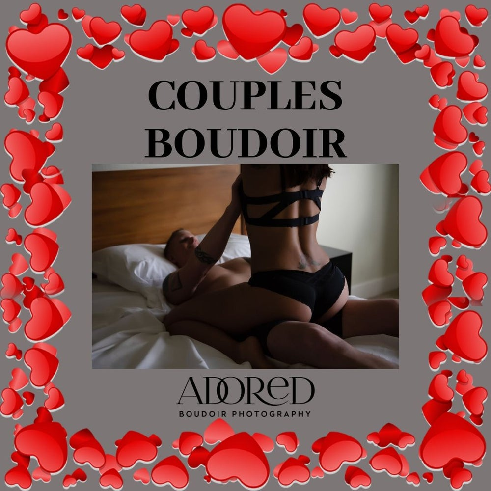 Image of Couples Boudoir Session
