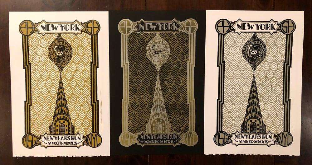 Image of New Year's Run prints