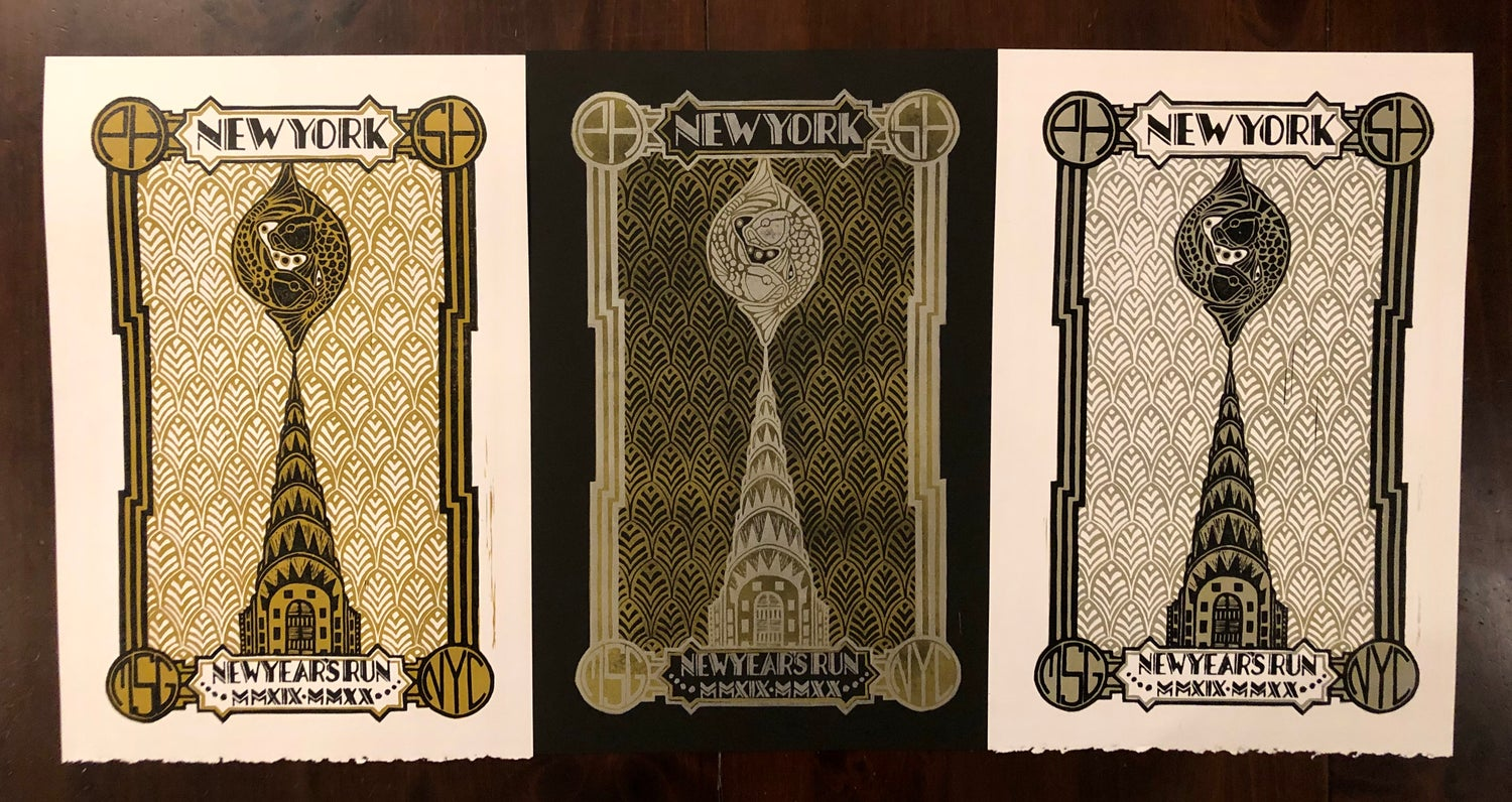 Image of New Year's Run prints