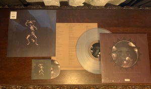 """Image of AWEN - The Hollow In The Stone (clear vinyl 12"""" + CD in slipcase)"""