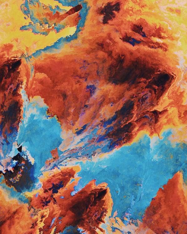 Image of Spacetime Art Print