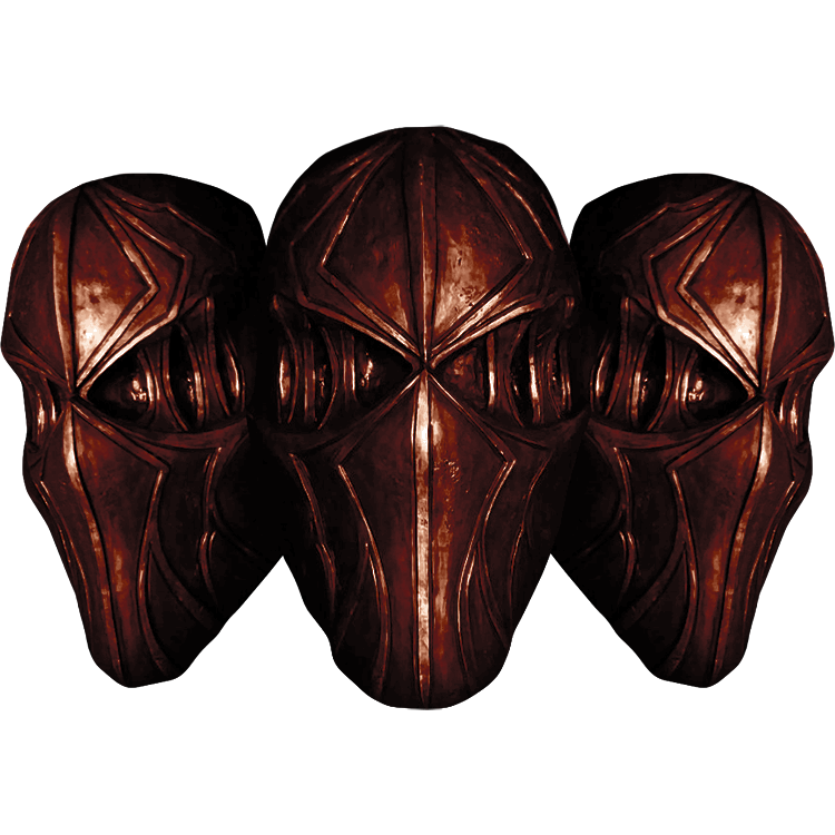 """Image of """"The Blood of Izu"""" Official Mask (Colossus)"""