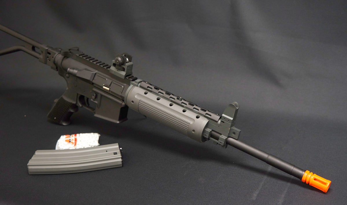 Image of A&K M4 GR-300 CARBINE NS15 FULL METAL AIRSOFT AEG