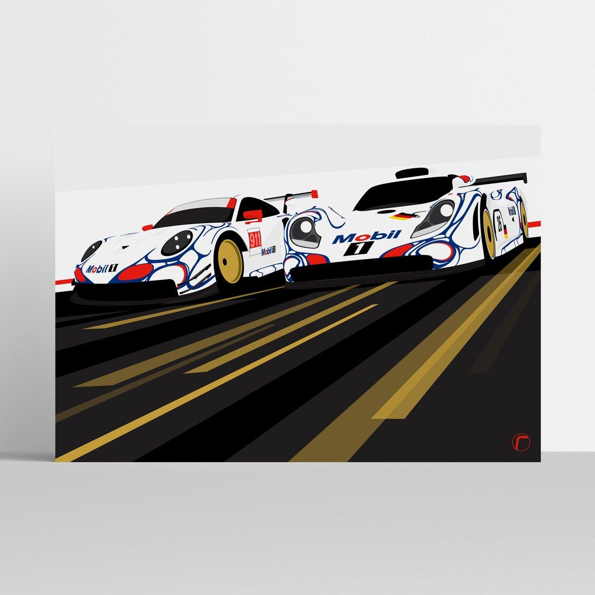 Image of Porsche GT Team | Petit Le Mans 911 & GT1