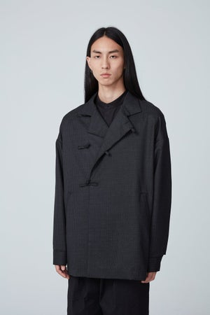 Image of TRAN - 高領風衣外套