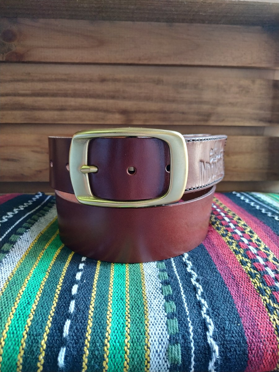 Image of Indomable logo belt (Reddish)