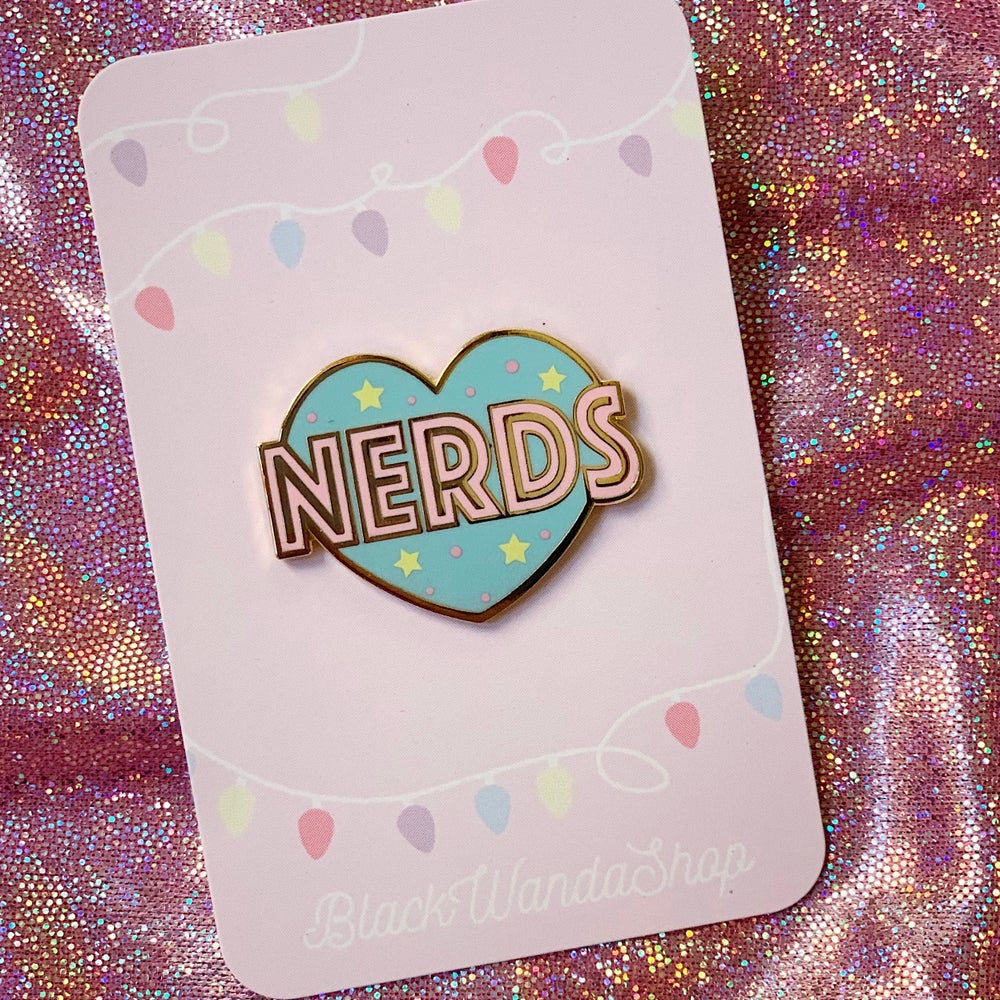 Image of Nerds heart
