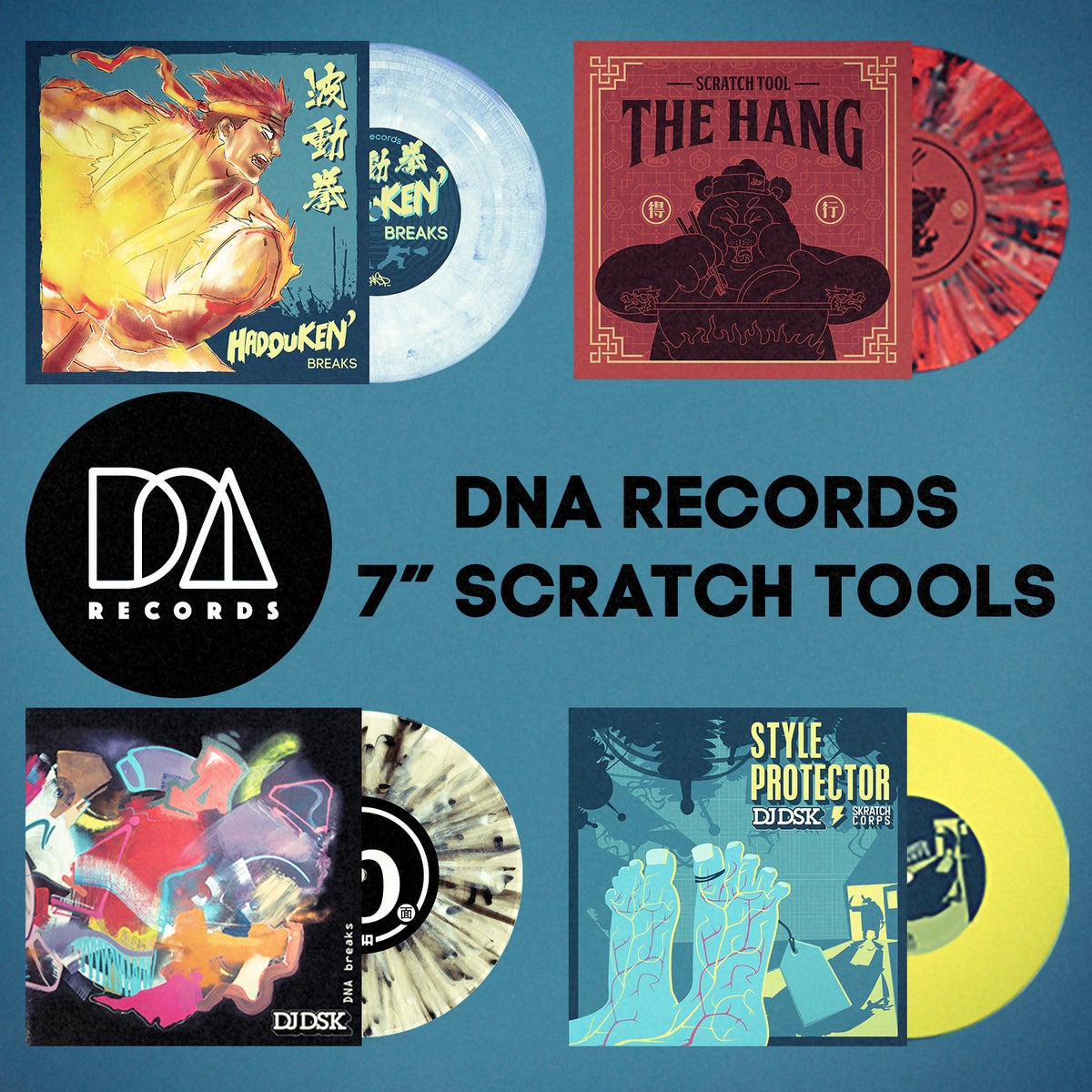 Image of DNA Records scratch tools & Value Pack