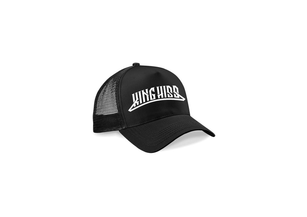 Image of Black Trucker Cap