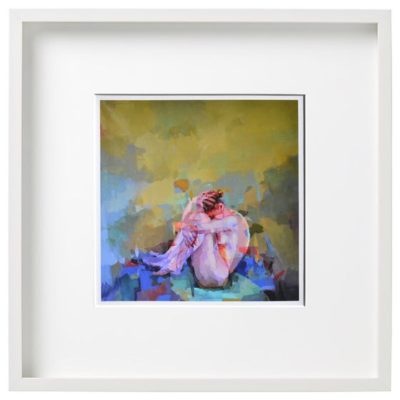 Image of Roundabout - Framed Limited Edtion Giclee Print