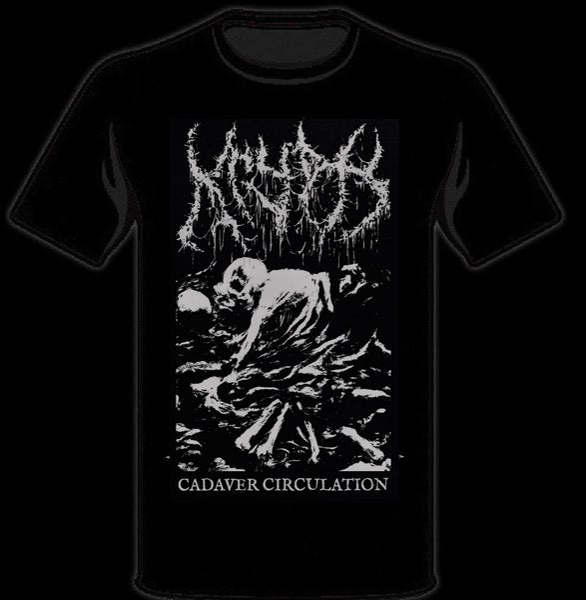 Image of Silver Cadaver T-Shirt