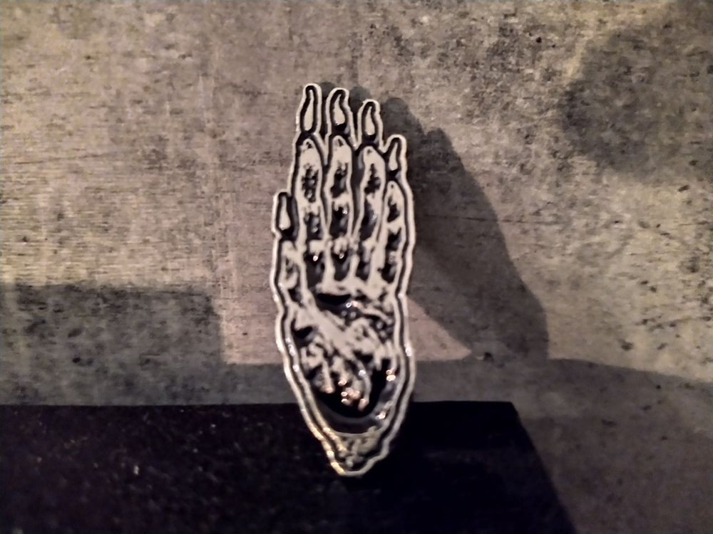 Image of Hand of Glory, Metal Pin