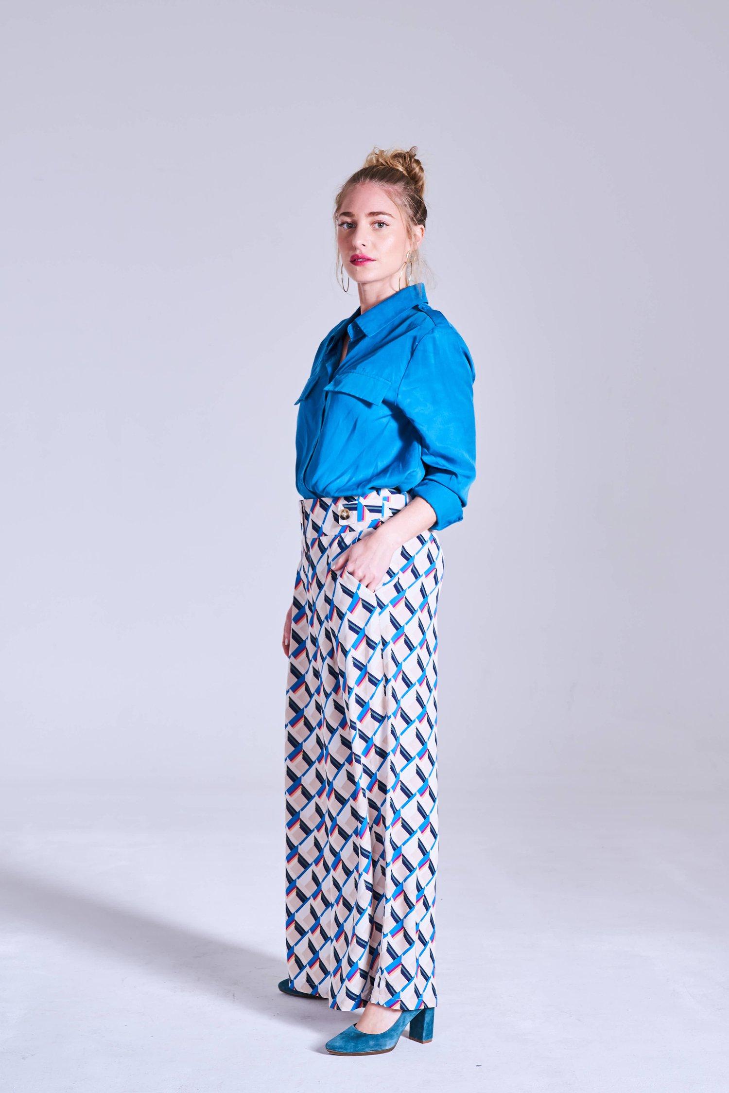 Image of Camisa Carlos Azul
