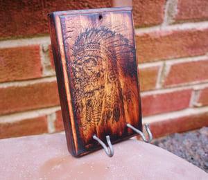 Image of Indian Chief decorative key holder