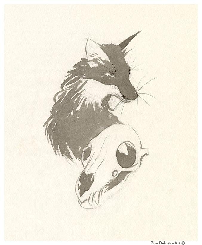 Image of Fox Memento Mori