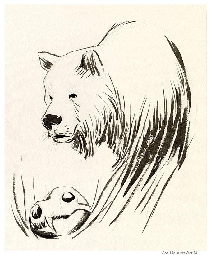 Image of Brown Bear Memento Mori