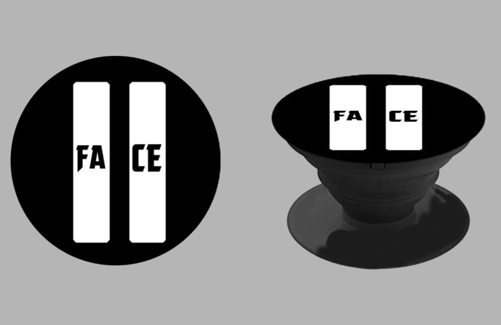 Image of 2face Logo Pop Socket