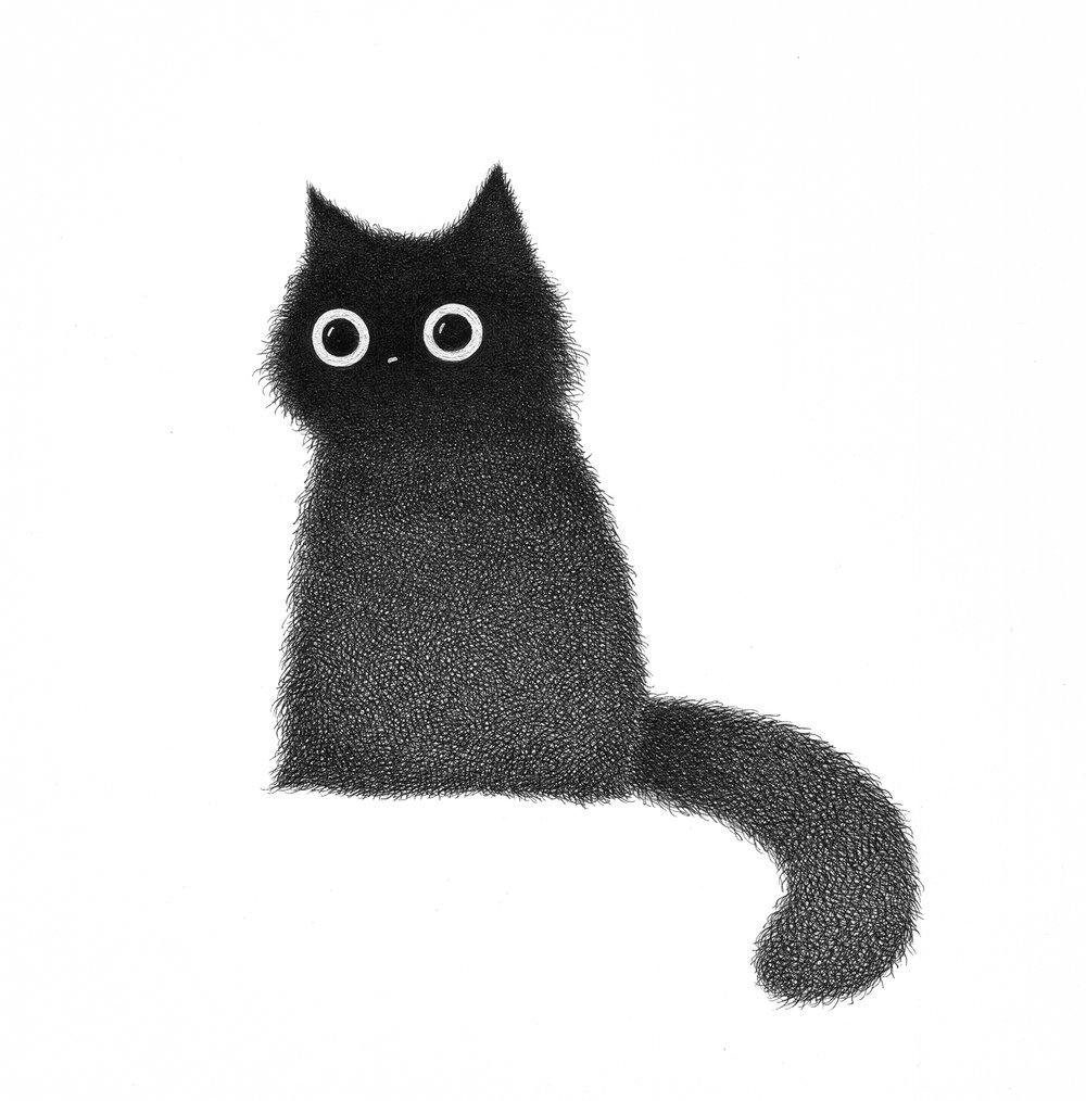 Image of Whoopie Poink original drawing