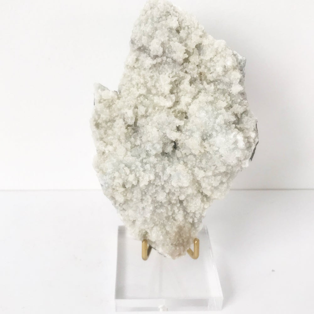 Image of Prehnite no.25 Sugarplum Collection Lucite Pairing