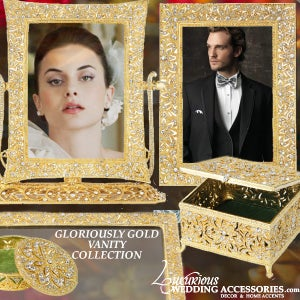 Image of Bliss Gloriously Gold Vanity Collection