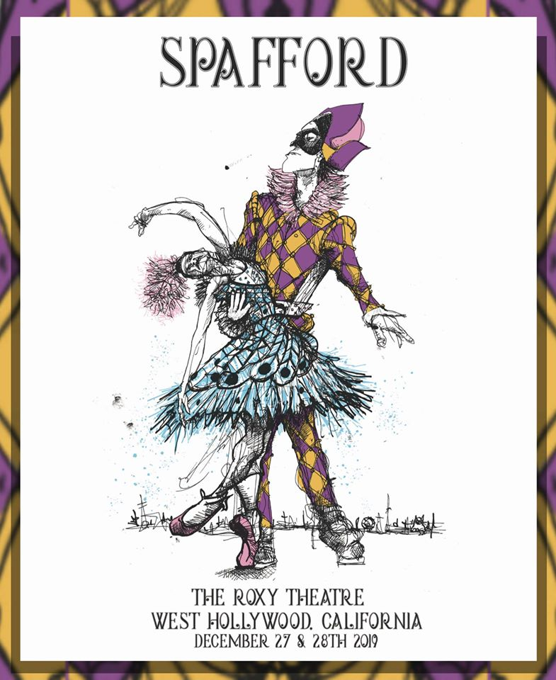 Image of Spafford West Hollywood Print 12-27/28-2019