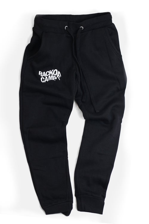 Image of Wavy Logo Sweatsuit 'Black