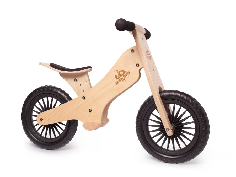 Image of Kinderfeets Balance bike: Natural. FREE SHIPPING within USA!