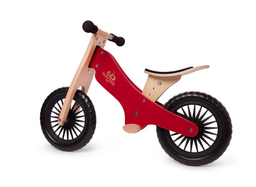 Image of NEW! Kinderfeets Balance bike: Cherry Red. FREE SHIPPING within USA!