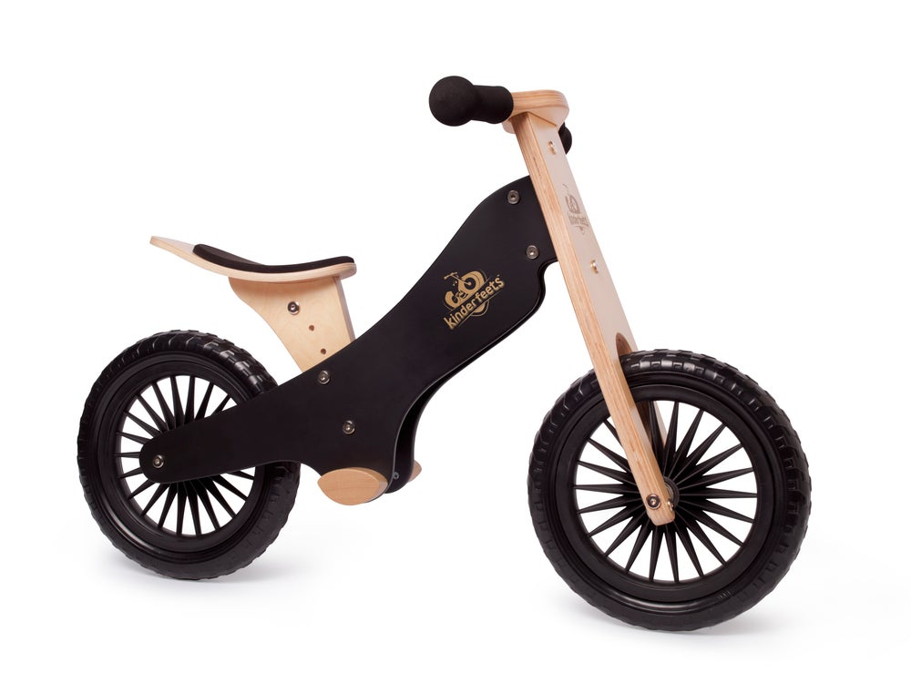 Image of NEW! Kinderfeets Balance bike: Black. FREE SHIPPING within USA!