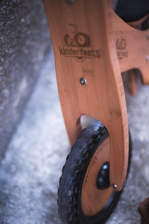 Image of Kinderfeets Balance bike: Bamboo. FREE SHIPPING within USA!