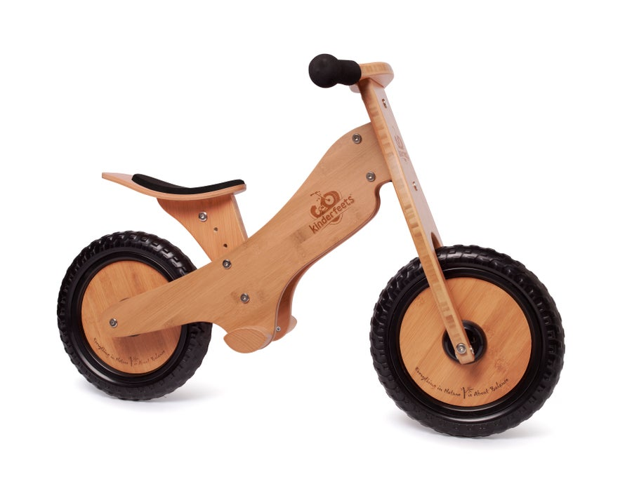 Image of Kinderfeets Balance bike: Bamboo. FREE SHIPPING within USA!