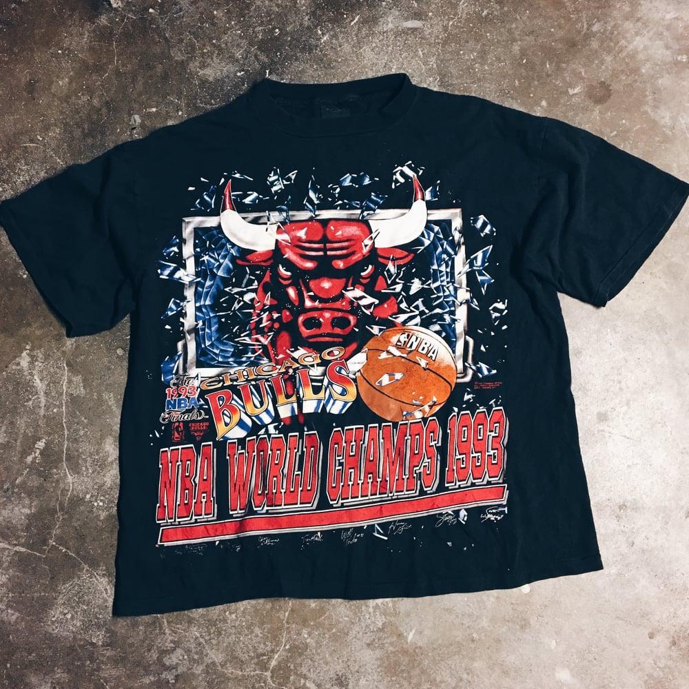 Image of Original 1993 Bulls World Champs Tee.