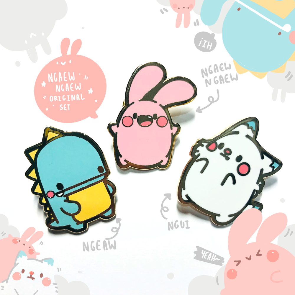 Image of Enamel Pin Original Set