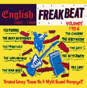 Image of CD Box Set.  V.A. : English Freakbeat 62-69.   6 CD Box set.