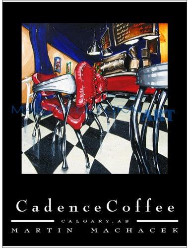 Image of Cadence Coffee II (Silver Stools)